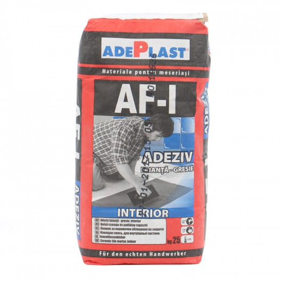 Adeziv Gresie Interior Afi 25kg-adeplast